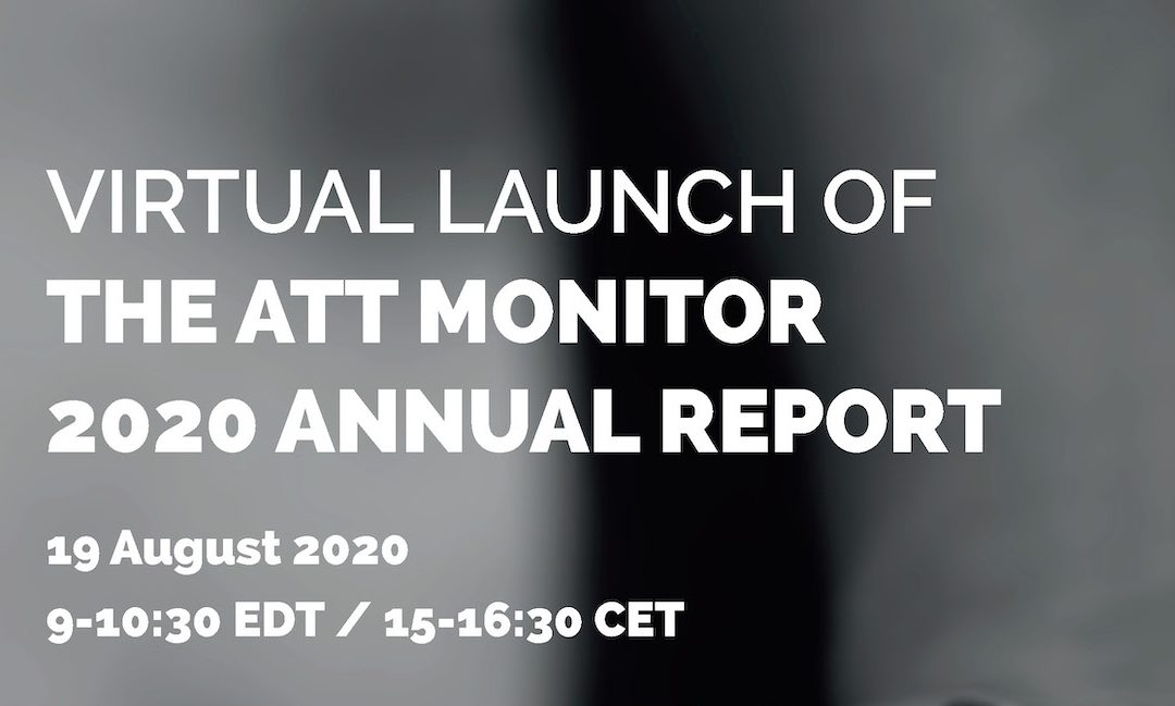 Virtual Launch of ATT Monitor 2020 Report