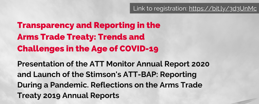 Side Event Report: Transparency and Reporting in the Arms Trade Treaty: Trends and Challenges in the Age of COVID-19